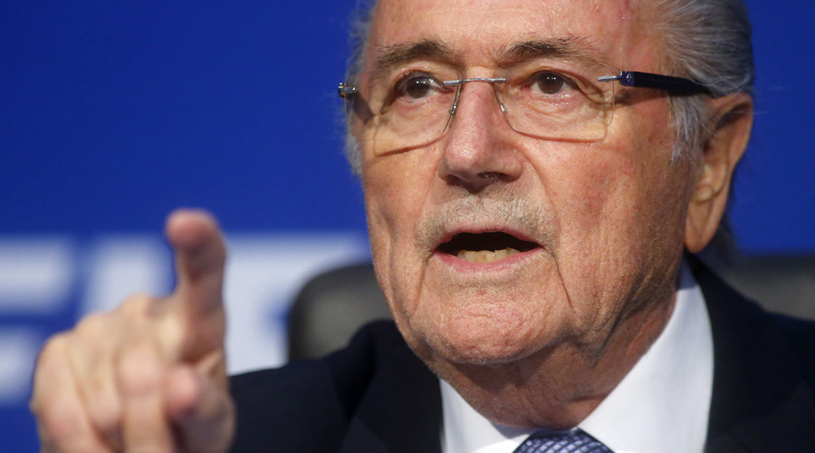 FIFA President Sepp Blatter. © Arnd Wiegmann