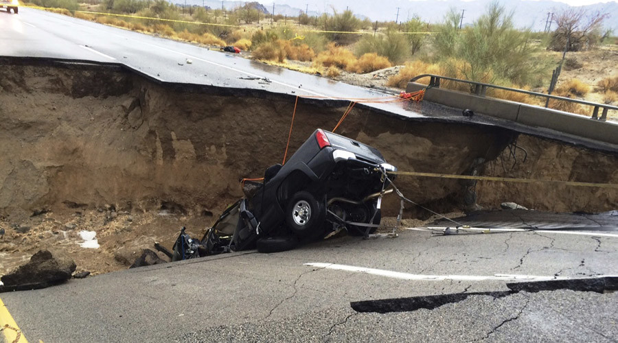 Interstate 10 closed 'completely & indefinitely' due to California bridge collapse