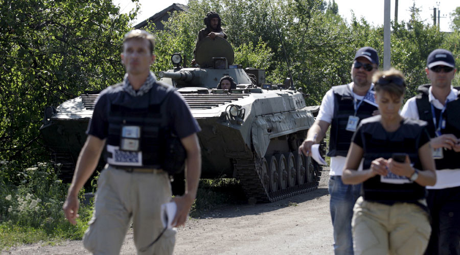 'We see movement of military hardware away from contact line' – OSCE