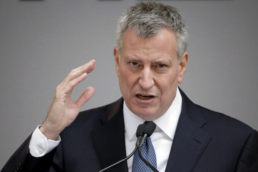 New York City Mayor Bill de Blasio © Eduardo Munoz