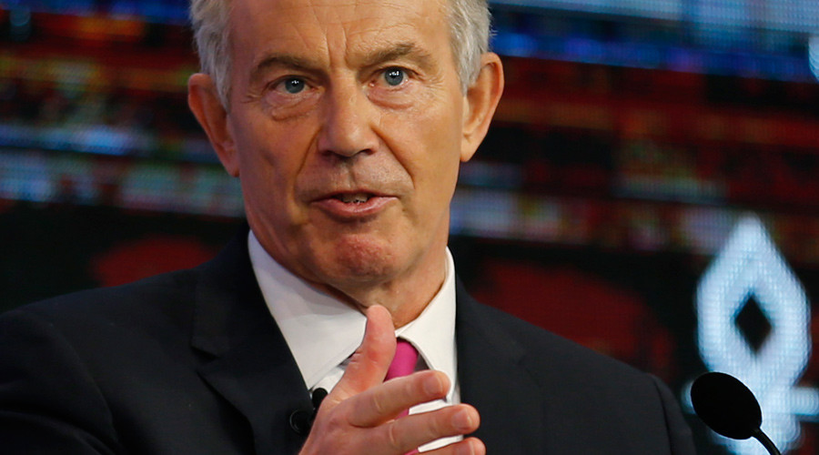 'If your heart is with Corbyn, get a transplant,' Tony Blair tells Labour supporters