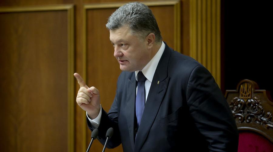 Ukrainian President Petro Poroshenko (© Mikhail Palinchak)
