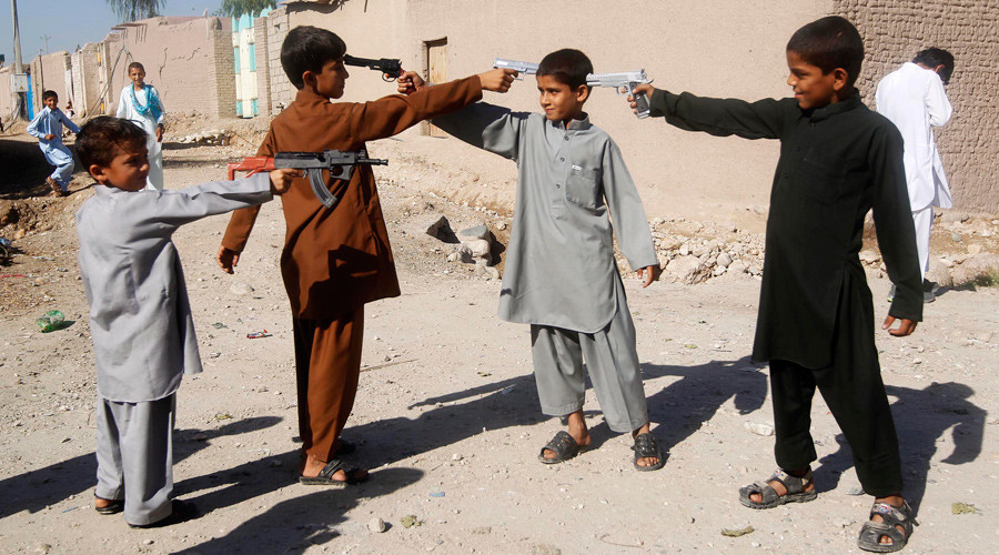 Crackdown on culture of violence: Afghanistan bans guns… toy guns