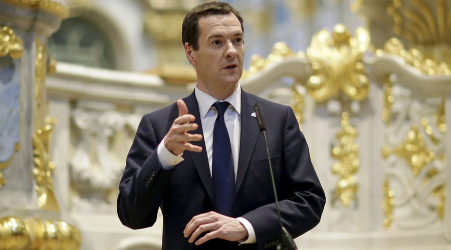 Welfare & foreign aid hit as Osborne announces further £20bn cuts