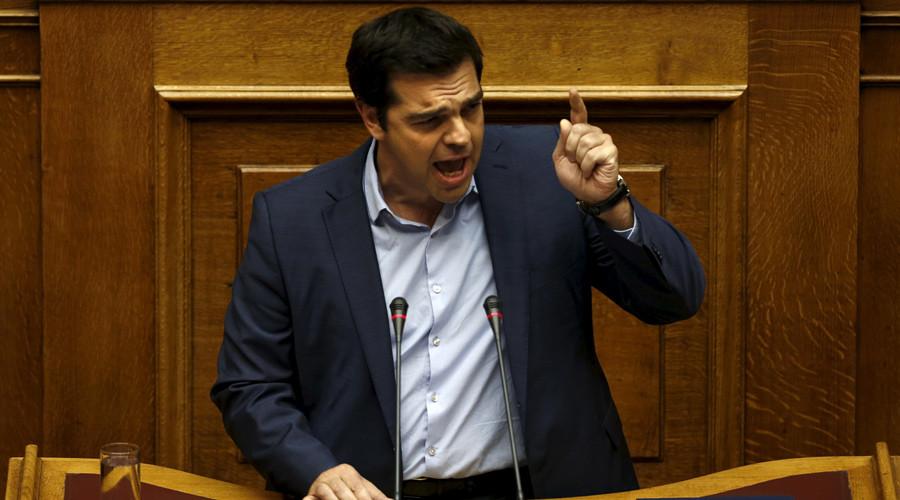 Greek Prime Minister Alexis Tsipras © Yiannis Kourtoglou