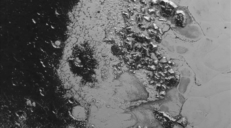 A 2nd totally different mountain range discovered on Pluto, scientists baffled (PHOTOS)