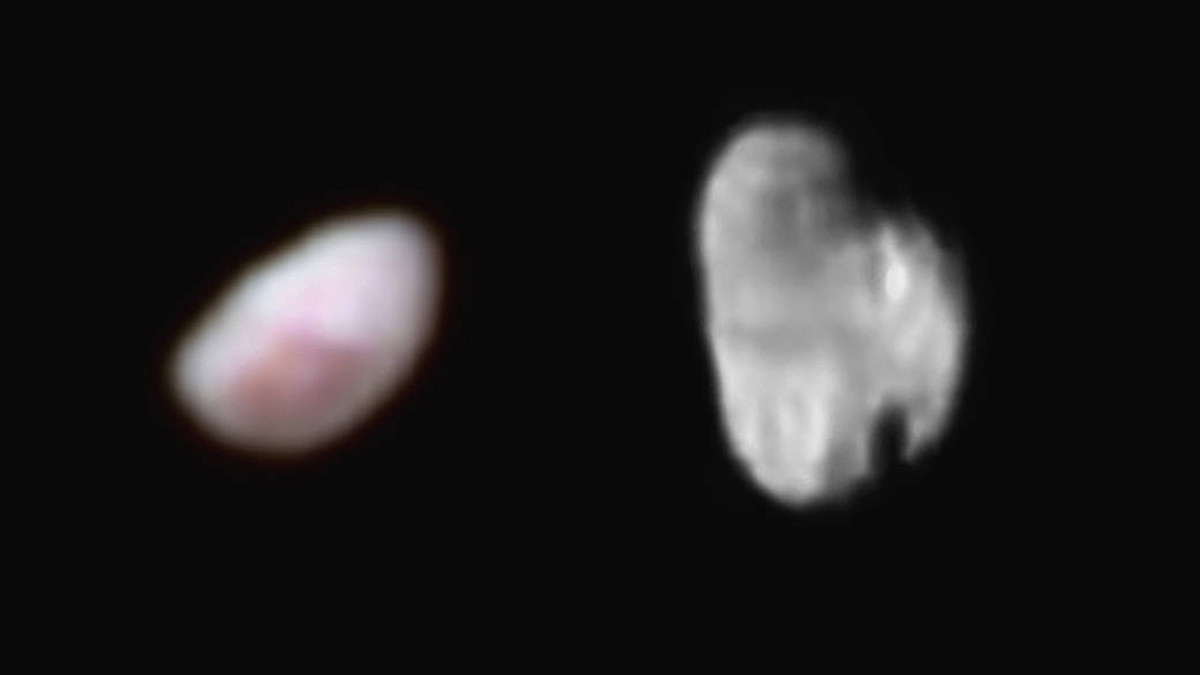 New Horizons Captures Two of Pluto's Smaller Moons