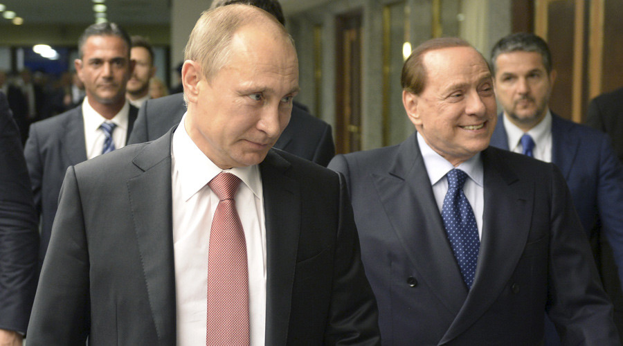 'I'll be minister for my friend Putin': Berlusconi offered post by Russian President - paper