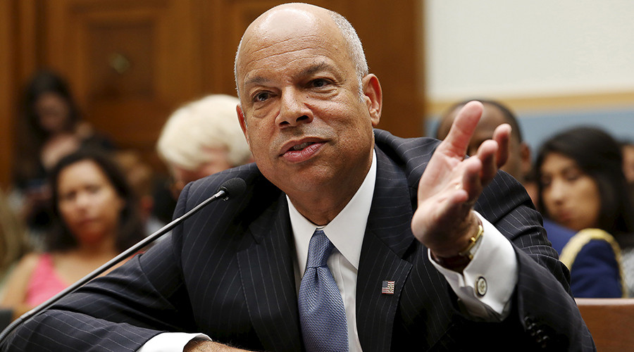 US Homeland Security Secretary Jeh Johnson © Yuri Gripas