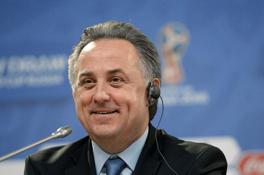 Russian Minister of Sport Vitaly Mutko © Alexei Danichev