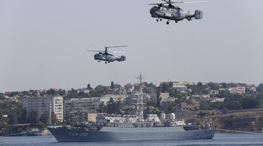 Russia's Navy Day: Warships, subs, aircraft show off military might (PHOTOS, VIDEOS)