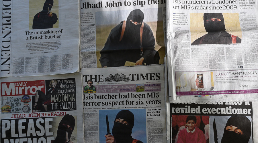 Executioner 'Jihadi John' flees ISIS fearing for his own head – report