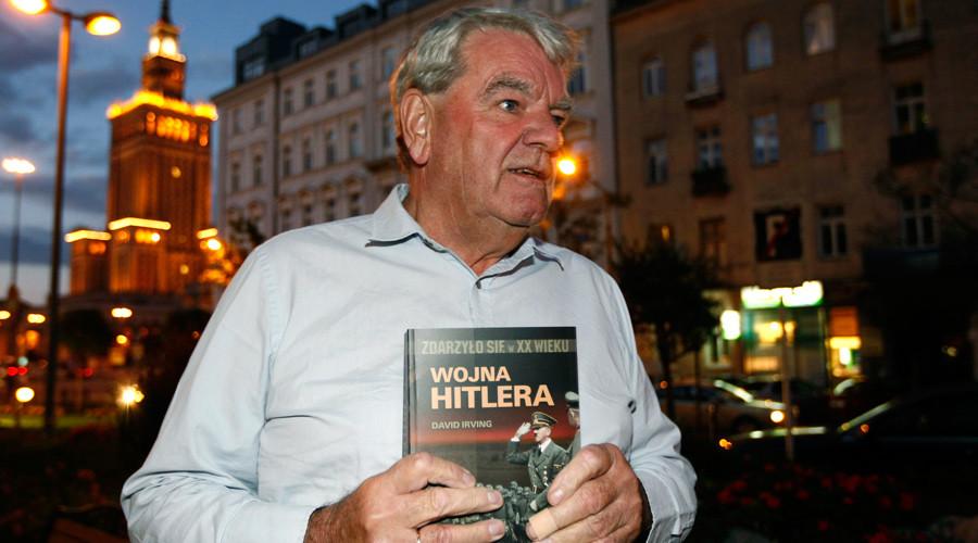 Holocaust denier David Irving speaks at secret neo-Nazi meeting