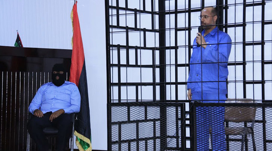 'Show trial': Gaddafi's son Saif sentenced to death in absentia