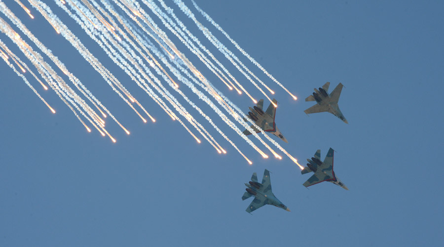 It's a Knockout: Russia hosts Aviadarts competition for fighter jets in 1st 'military Olympics'