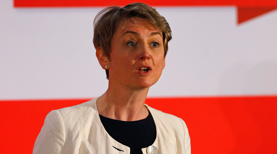 Labour Party leadership candidate Yvette Cooper © Darren Staples
