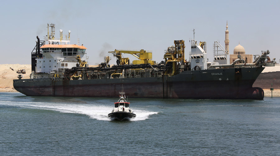 Egypt ready to open 'New Suez Canal'