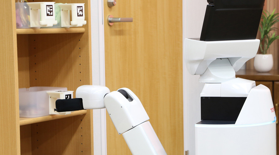 The Human Support Robot (HSR) © newsroom.toyota.co.jp