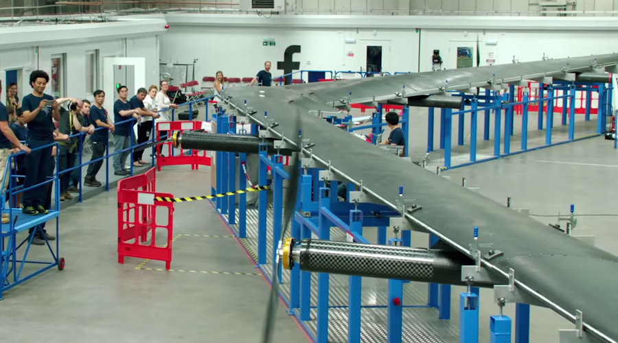 Facebook to test solar-powered Boeing-737-sized 'free internet access' drone