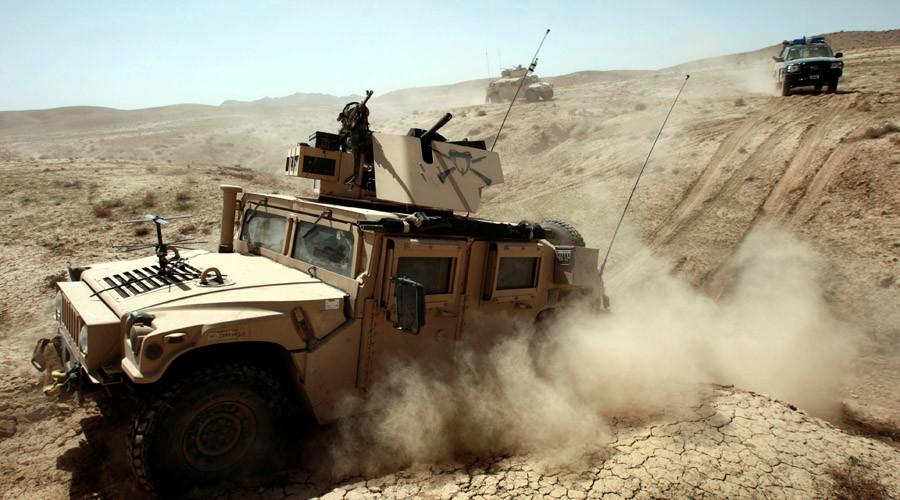 U.S. soldiers © Goran Tomasevic