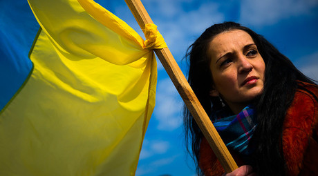 Protestors take to streets of Kiev to denounce high utility bills