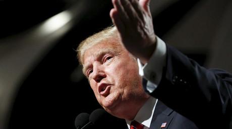 U.S. Republican presidential candidate Donald Trump. © Nancy Wiechec