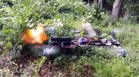 Glock-armed Israeli robot joins ranks of mechanized killers (VIDEO)