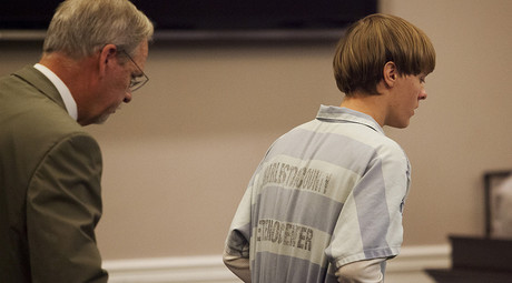 Dylann Roof (R) © Randall Hill