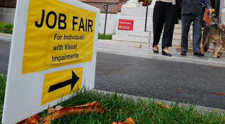 US jobless claims plunge to lowest level in 42yrs