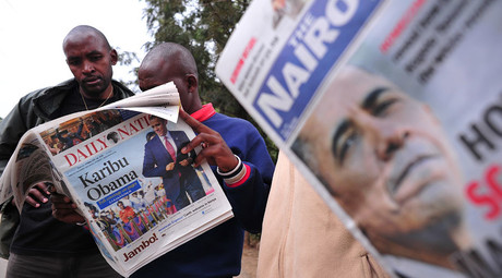 Ups and downs of Obama-mania in Kenyan cartoons