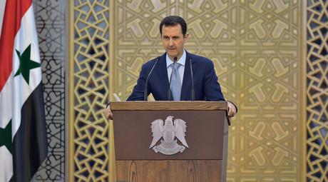 Bashar Assad © HO / SANA