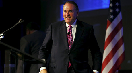 US  Republican presidential candidate Mike Huckabee © Mike Blake