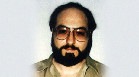 Jonathan Pollard is pictured in this May 1991 file photo, six years after his 1985 arrest. © Reuters