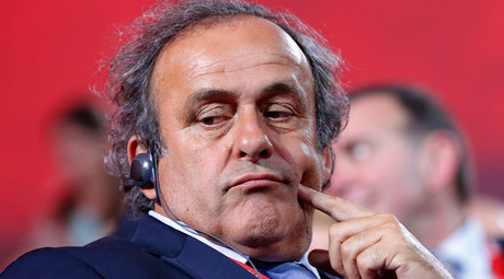 UEFA chief Michel Platini © Maxim Shemetov