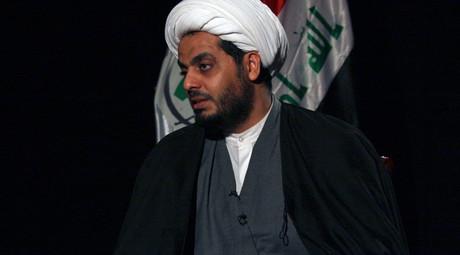 Iraq's Shi'ite militia leader Qais al-Khazali, the leader of Asaib al-Haq © Kareem Raheem