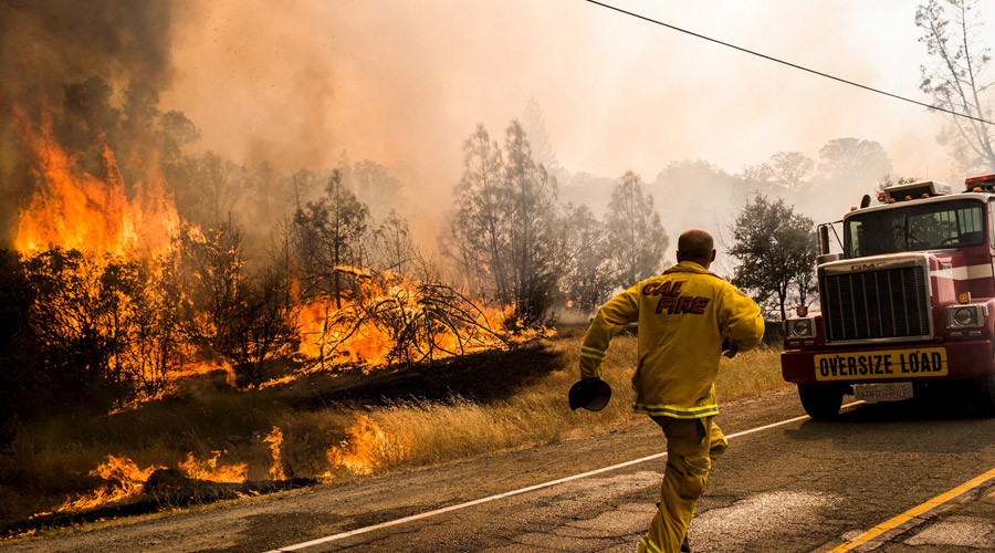 18 raging wildfires force California Gov. to declare state of emergency