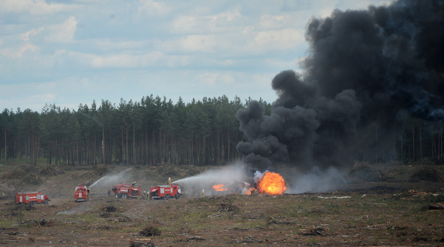 Helicopter crashes at airshow in Russia, 1 pilot dead (PHOTOS, VIDEO)