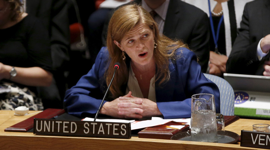 U.S. Ambassador to the United Nations Samantha Power © Mike Segar