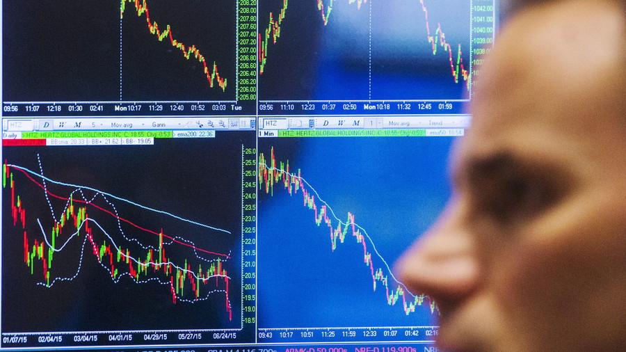 Greek stock exchange plummets 23% as it reopens after 5-week closure