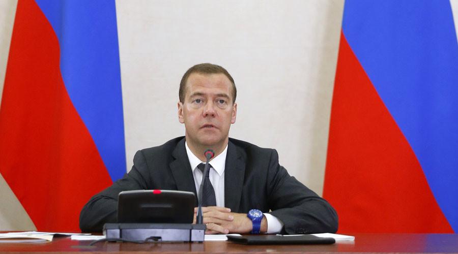 Russian Prime Minister Dmitry Medvedev. ©Dmitry Astakhov