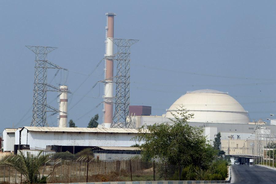 A view of Bushehr nuclear power plant. © Raheb Homavandi