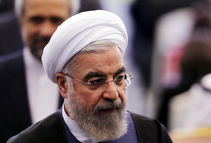 Iranian President Hassan Rouhani © Beawiharta