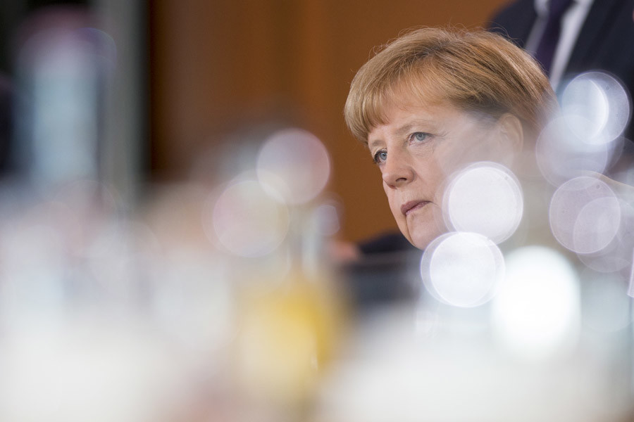 German Chancellor Angela Merkel © Axel Schmidt