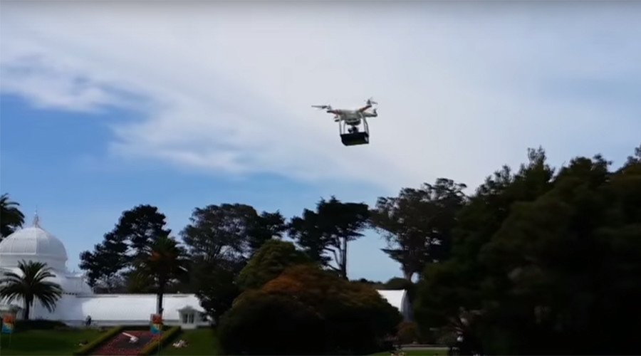 Bitcoin payments and drone deliveries: Cali company teases pot possibilities
