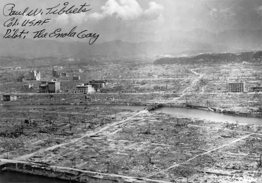 Hiroshima aftermath © U.S. Navy Public Affairs Resources Website