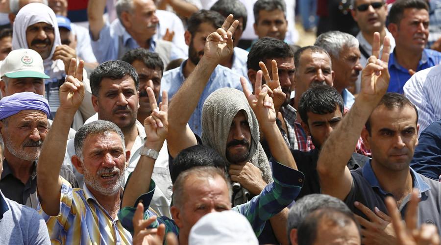Turkish Kurds. © Murad Sezer