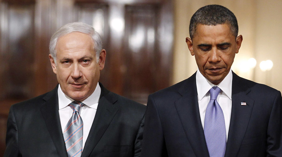 U.S. President Barack Obama and Israeli Prime Minister Benjamin Netanyahu. © Jason Reed