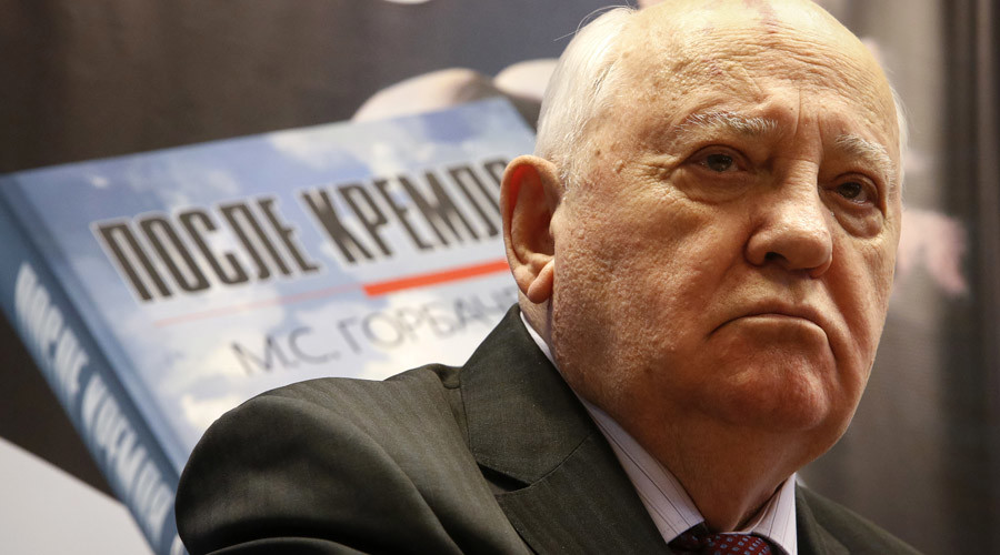Gorbachev calls US military might 'insurmountable obstacle to a nuclear-free world'