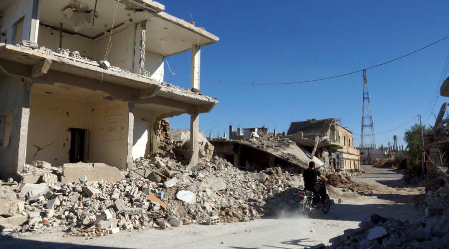 Daraa Al-Balad, Syria. © Alaa Al-Faqir