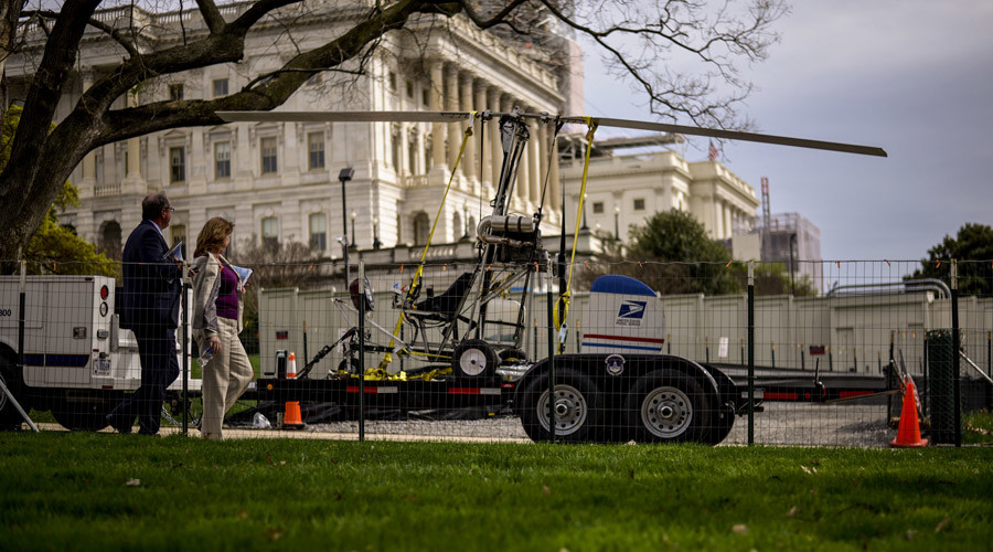 US Capitol gyrocopter landing exposes security flaws, communications breakdown – Senate report